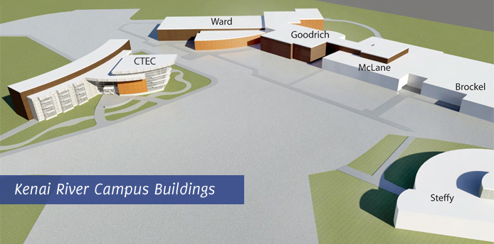 Kenai River Campus Buildings