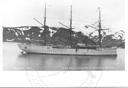 The USS McCullough R.C.S, Unalaska early 1900's